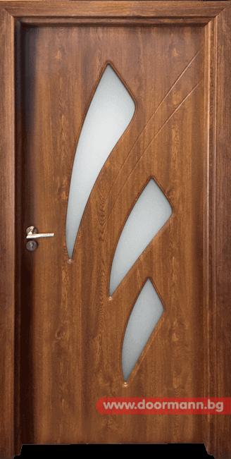 Интериорна врата Gama 202 - Златен дъб