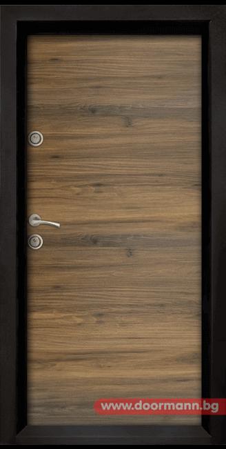 Блиндирана врата Ale Door 404, цвят Napoli