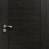 Алуминиева врата за баня - Венге