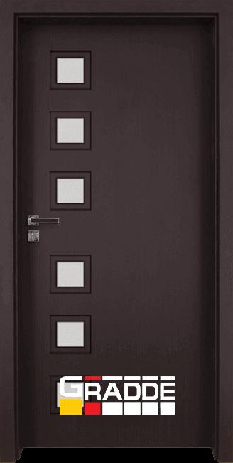 Интериорна врата Gradde Reichsburg - Орех Рибейра
