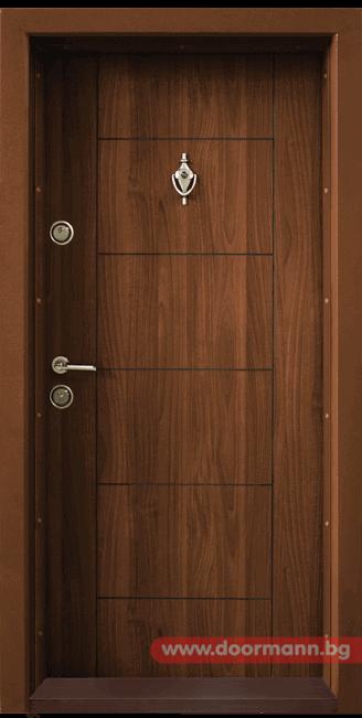 Блиндирана врата Т102 - Златен дъб