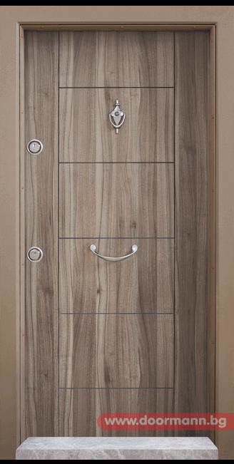Блиндирана врата Т102 - Спарта