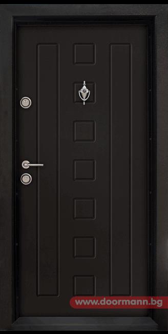 Блиндирана входна врата Т712 - Африка