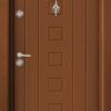 Блиндирана входна врата Т712 - Златен дъб