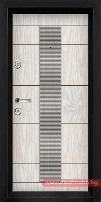Блиндирана входна врата модел Т901 от Дорман Русе